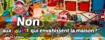 article - Non aux jouets qui envahissent la maison !