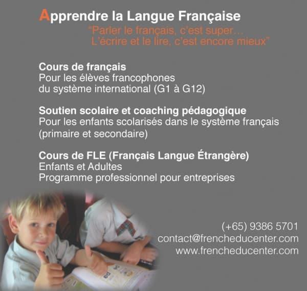 image-French Educenter – Cours de français à Singapour