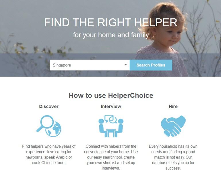 image-HelperChoice, plateforme éthique de recrutement de domestic helpers