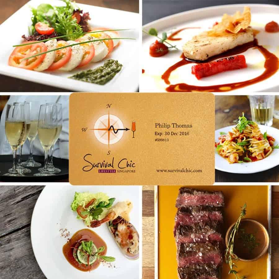 image-Survival Chic (SC) : 30% off incluant alcool et invités dans 50+ restaurants, tous les jours, sans condition.