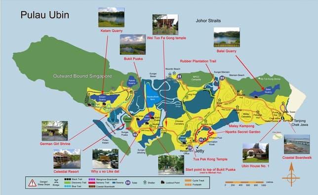 singapour-carte-Pulau-Ubin