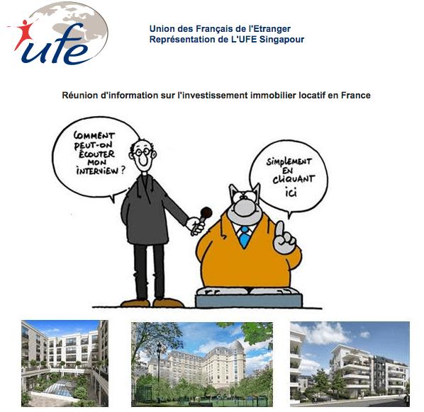 r union d 39 information sur l 39 investissement immobilier locatif en france le bottin singapour. Black Bedroom Furniture Sets. Home Design Ideas