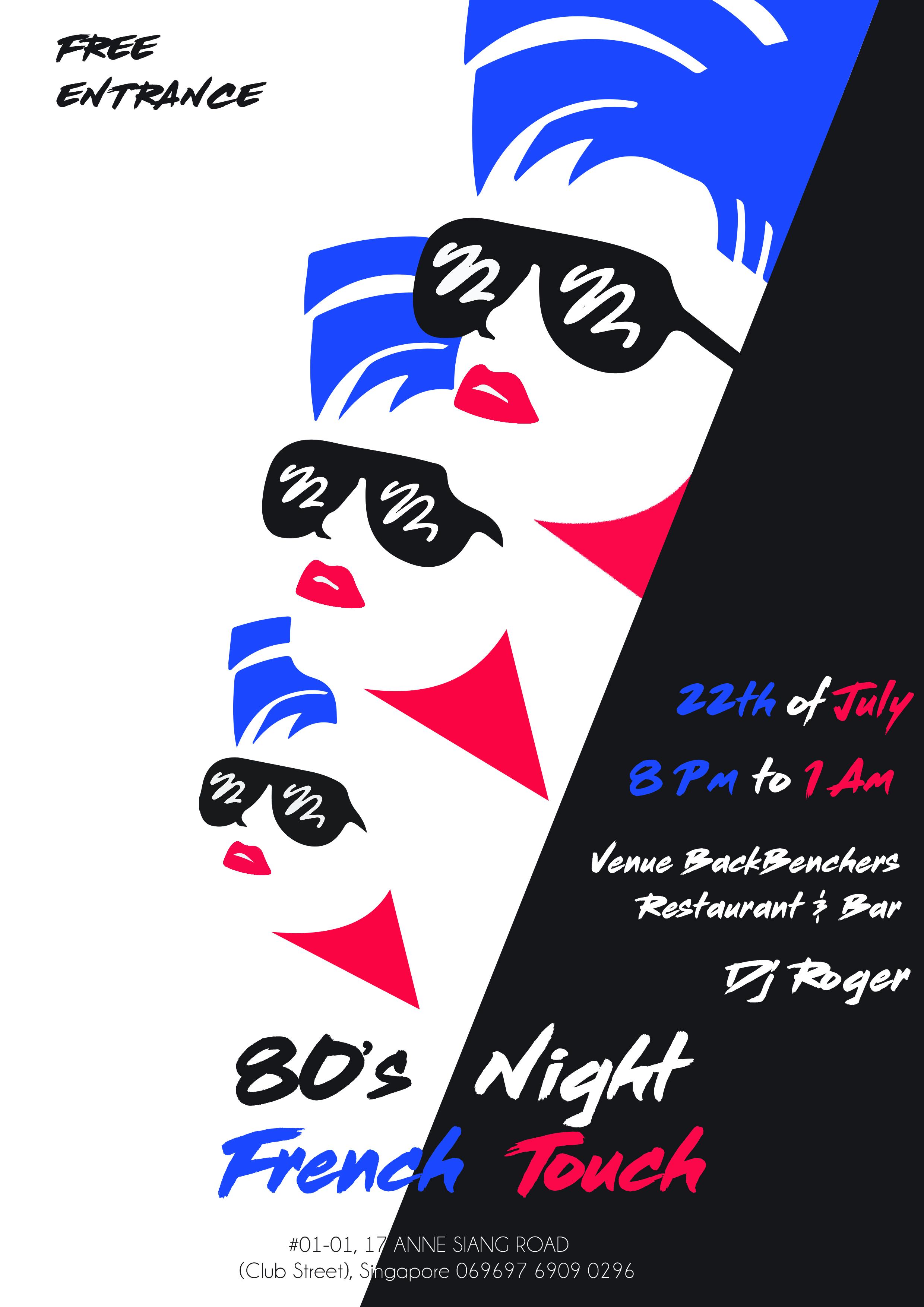 image-Années 80's avec Touche Française!
