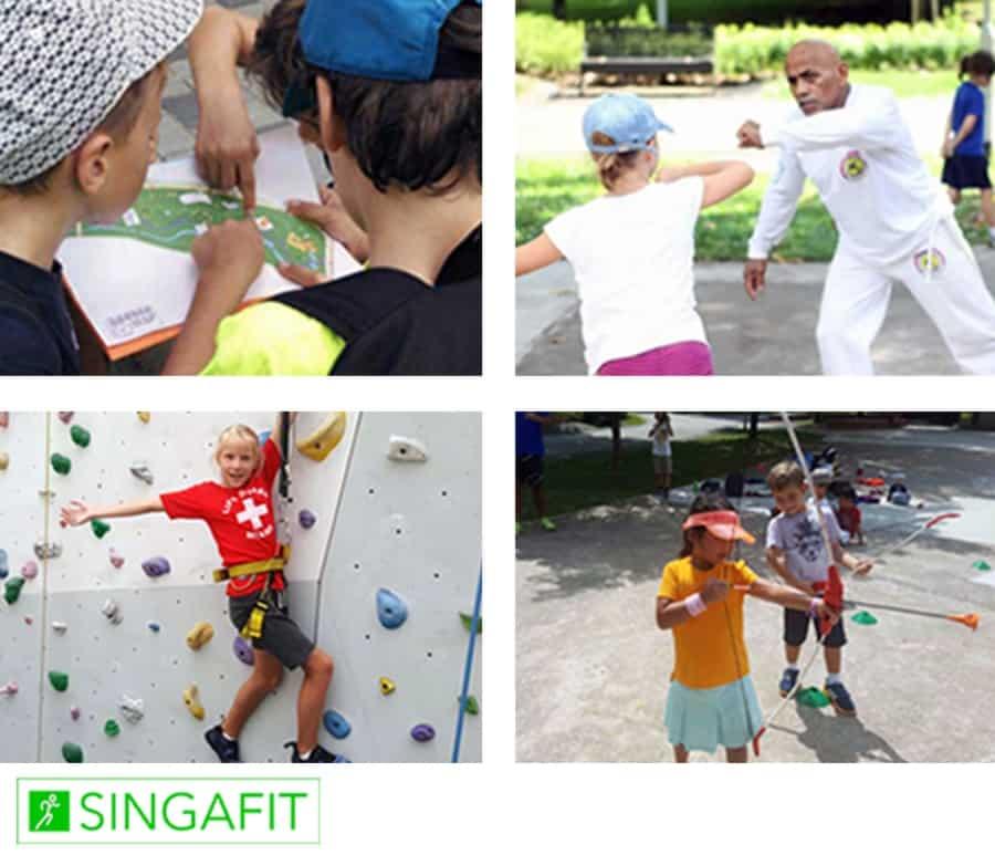 image-Singafit : du sport pour les petits et les grands!