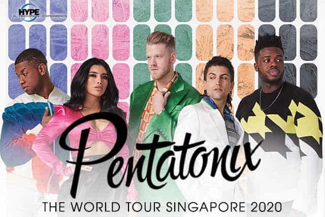 image-Pentatonix World Tour 2020 Singapore