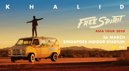 image-(REPORTE) Khalid Free Spirit World Tour 2020