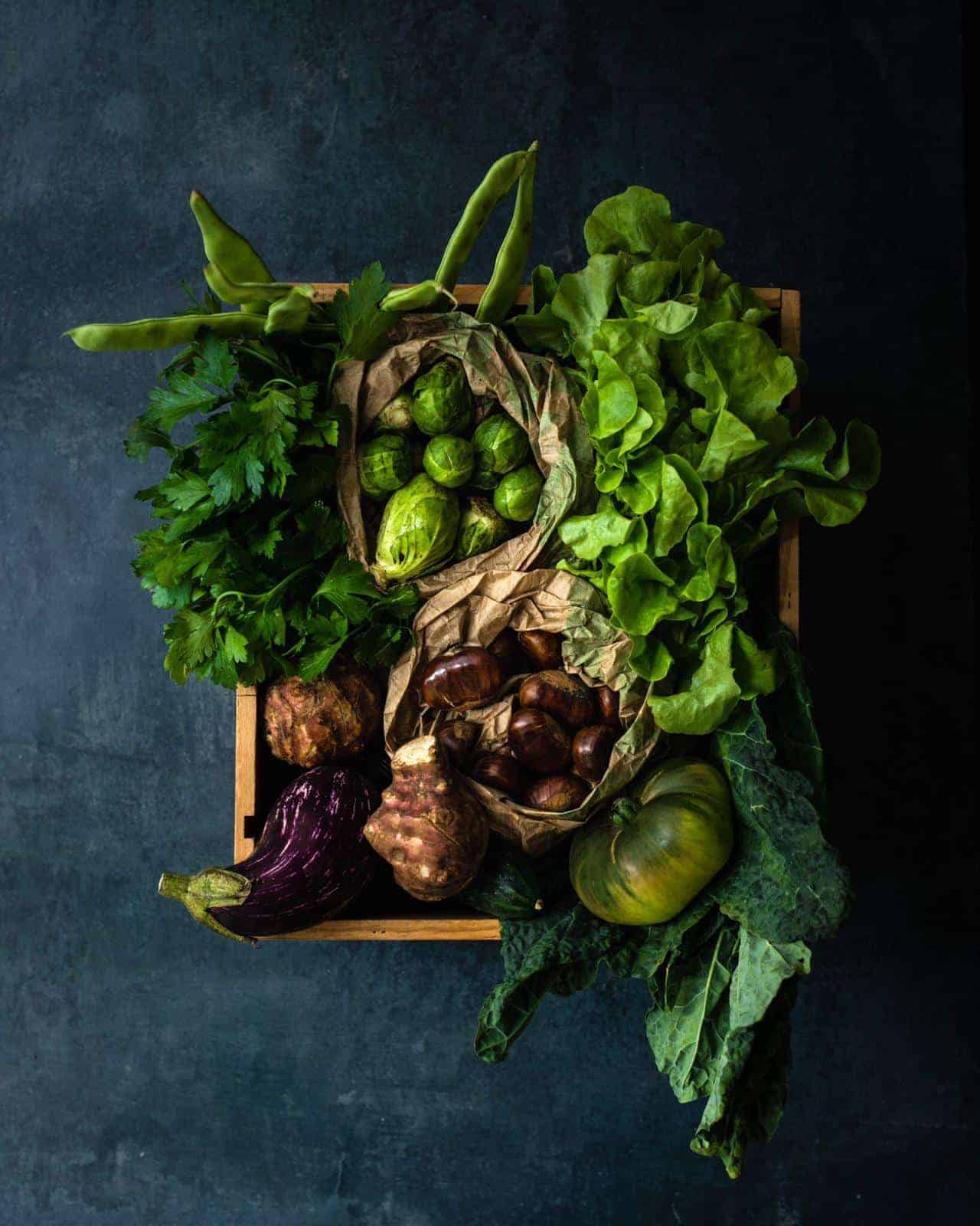 image-The Green Girl – delicate organics : des fruits et legumes Bio de France à votre porte