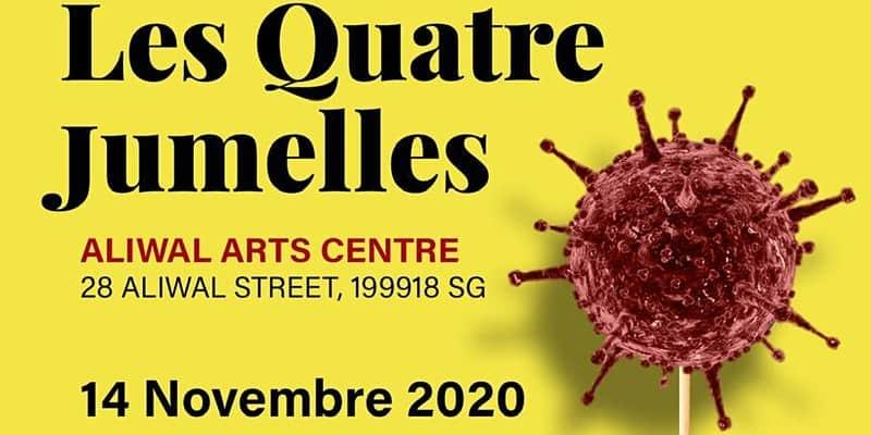 evenement-Les Quattre Jumelles – théâtre français pour les francophones !